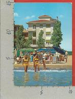 CARTOLINA NV ITALIA - LIDO DI JESOLO (VE) - Hotel Ornella - Spiaggia - Ragazze In Bikini - 10 X 15 - Alberghi & Ristoranti