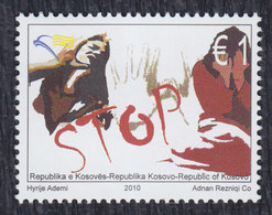 Kosovo 2010 Stop Violence Against Women, MNH (**) Michel 180 - Kosovo