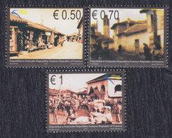 Kosovo 2010 Cultural Heritage - Bazaars, MNH (**) Michel 181-183 - Kosovo