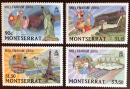 Montserrat 2000 Millenium Landmarks MNH - Montserrat