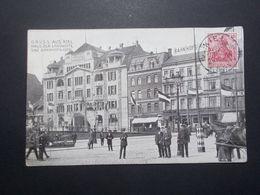 Carte Postale  - ALLEMAGNE - Gruss Aus KIEL - Haus Der Landwirte Und Bahnhofs Hôtel (2591) - Kiel