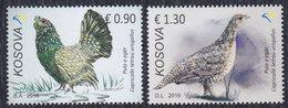 Kosovo 2016 Animals - Fauna - Western Capercaillie, MNH (**) Michel 359-360 - Kosovo