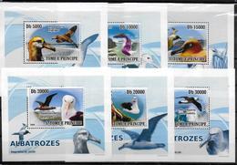 SAINT THOME ET PRINCE  BF Luxe N° 2702/07  * *    Oiseaux Albatros - Albatros