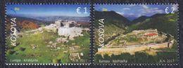 Kosovo 2017 Europa CEPT - Castles And Palaces, MNH (**) Michel 384-385 - Kosovo