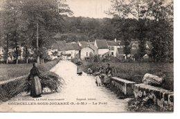 COURCELLES SOUS JOUARRE : Le Pont - France