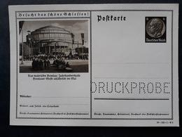 Bessere DR Ganzsache Druckprobe P236 - DV 39-142-1-B3, Breslau (862) - Ganzsachen