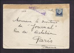 ENVELOPPE GUERRE ESPAGNE Cachet De Censure Censurada EMA Madrid 1936 - Bolli Di Censura Repubblicana