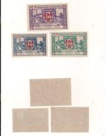 3 Notgeldscheine Herzogenburg  10, 20 + 50 H - Kilowaar - Bankbiljetten