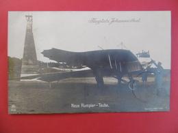 AUGPLATZ JOHANNISTHAL  -  NEUE RUMPLER - TAUBE  - BERLIN  - AVIATION - AVION TAUBE -  PILOTE - Autres