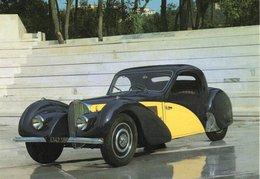 AUTOMOBILES : BUGATTI Atalante 57S, 8 Cylindres En Ligne - 3300 Cm3 - 200 Km/h - Voitures De Tourisme
