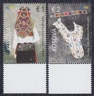 Kosovo 2017 Costumes, MNH (**) Michel 399-400 - Kosovo