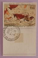 """FRANCE YT 1555 CAD 22-4-1968+BDF """"PEINTURE RUPESTRE DE LA GROTTE DE LASCAUX"""" ANNEE 1968 - France"""