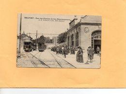 F0803 - BELFORT - 90 - Gare Des Chemins De Fers Départementaux - Trains - Belfort - Ciudad