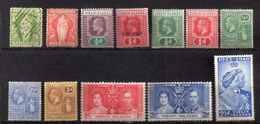 VIERGES 1866/1948 OBL X SG BON ETAT VOIR SCAN DESCRIPTION - Iles Vièrges Britanniques