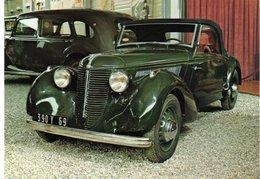 AUTOMOBILES : AMILCAR Compound 1939 - Passenger Cars