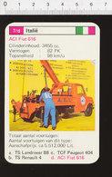 Voiture Automobile ACI Fiat 616  IM126/41 - Vecchi Documenti