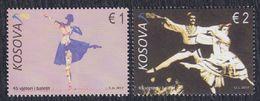 Kosovo 2017 Kosovo Ballet, MNH (**) Michel 405-406 - Kosovo