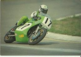 MOTO -- Course De Vitesse. (2 Scans - Motorcycle Sport