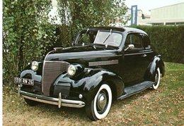 AUTOMOBILES : CHEVROLET Master De Luxe - 1939 - 6 Cyl. - 20 CV - 140 Km/h - Voitures De Tourisme