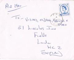 31712. Carta Aerea BFPO 41, British Forces  LIPPSTADT (Germany) 1965. Army Brigade - 1952-.... (Elizabeth II)