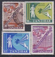 Zanzibar Etat Indépendant : N° 316 / 19 X ( Le 317 O) La Série Les 4 Valeurs Trace De Charnière Ou Oblitéré Sinon TB - Zanzibar (1963-1968)