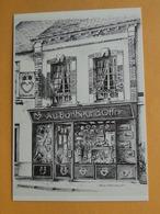 OLIVET  (Loiret) - Carte Postale Moderne Publicitaire -- Au Bonheur D'Offrir - Dessin Erick Beauvallet - Publicité