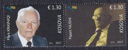 Kosovo 2017 Personalities, MNH (**) Michel 407-408 - Kosovo