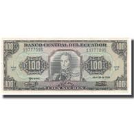 Billet, Équateur, 100 Sucres, 1986, 1986-04-29, KM:123, NEUF - Ecuador