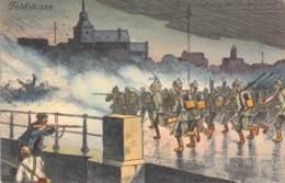 Sturmangriff Auf Lüttich Feldpost 1914 - Guerre 1914-18