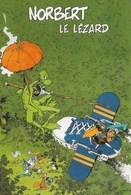 """LOISEL COTHIAS . CP """"NORBERT LE LEZARD"""" (EDITIONS DU GRANIT) N°112 (JANV 2000) - Cartes Postales"""