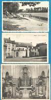 (G083) FOSSES - Place Du Chapître - Lac Et Plage Des Bambois - Collégiale St Feuillen - Fosses-la-Ville