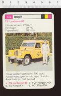 Voiture Automobile TS Landrover 88  IM126/41 - Vieux Papiers