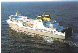 BATEAUX : KALLISTE Compagnie Méridionale De Navigation Ajaccio - Bastia - Marseille - Traghetti
