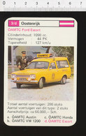 Voiture Automobile OAMTC Ford Escort ( Break ) IM126/41 - Vieux Papiers