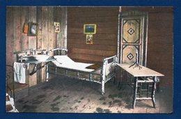 Feldpostkarte. Kriegsbilder Aus Den Vogesen. Schlafgemach In Einem Offiziers-Unterstand - Weltkrieg 1914-18
