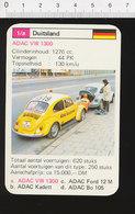Voiture Automobile ADAC VW 1300 Coccinelle AR Réparation Mécanicien Auto Dépannage Route  IM126/41 - Vieux Papiers