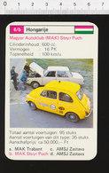 Voiture Automobile Magyar Autoklub (MAK) Steyr Puch Réparation Mécanicien Auto Dépannage Route IM126/41 - Vieux Papiers