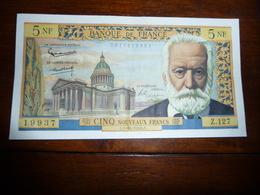 FRANCE * 5 Francs VICTOR HUGO  1-10-1964 E   Z127  Quasi SUP - 1871-1952 Anciens Francs Circulés Au XXème