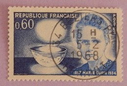 """FRANCE YT 1533 TRES BEAU CAD BEZIERS  5-2-1968  """"MARIE CURIE"""" ANNEE 1967 - France"""