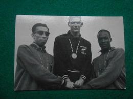Olympiade Rome 1960  Chromo Suanet Merksem 800m  P.Snell, R.Moens En G.Kerr - Trading Cards