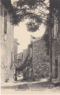 04 - Forcalquier - Beau Plan De La Rue De La Charité - Forcalquier