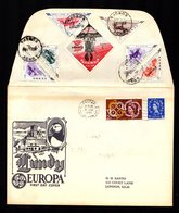 EUROPA CEPT 1961 GB  LUNDY Island On Cover 8 DEC 1961  2 Scan - 1961