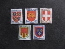 TB Serie N° 834 Au N° 838, Neufs XX. - France
