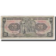 Billet, Équateur, 20 Sucres, 1986, 1986-04-29, KM:121Aa, B+ - Equateur