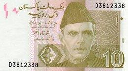PAKISTAN=2006   10  RUPEES    P-    UNC - Pakistan
