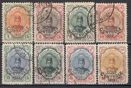 IRAN 1922 - MiNr: 462 - 478   Lot 8x Used - Iran
