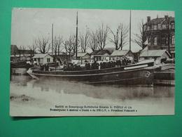 Mont-sur-Marchienne  - Sté De Remorquage Batelleries Réunies A. PIEPLU & Cie. Remorqueur à Moteur Deutz Roi Albert - Charleroi