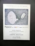 Edoardo Sanguineti Papasso Il Colore è Mio Mostra Bracciano 1998-99 Avanguardia - Vecchi Documenti