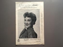 EEKLO - Cinema ASTRID - Betty Garrett - Publiciteit - Publicité Cinématographique