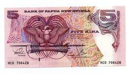 PAPUA NEW GUINEA=N/D   5  KINA    P-13      UNC - Papua New Guinea